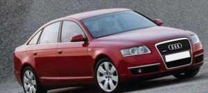 Audi А6 С6 седан до рестайлинга