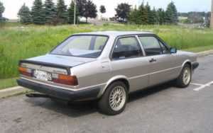 Audi 80 B2 седан с 2 дверьми