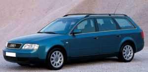 Автомобиль Ауди А6 С5 в кузове универсал