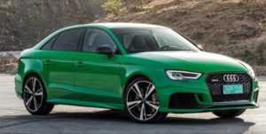 Рассекречен новый седан Audi RS3 Sedan