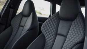 Салон Audi RS3 Sedan