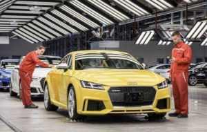 Audi Hungaria представили отчёт за прошлый год