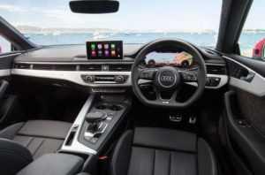 Салон Audi A5 Coupe