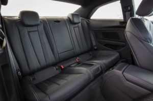 Задний ряд сидений Audi A5 Coupe