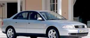 Седан Audi A4 B5 после рестайлинга