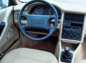 Салон Audi 80 B3