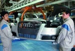 Планы Volkswagen в отношении завода в Китае
