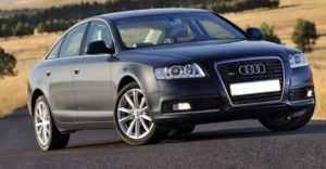 Audi А6 С6 седан рестайлинг