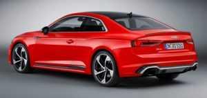 Стали известны технические подробности об автомобиле Ауди RS5