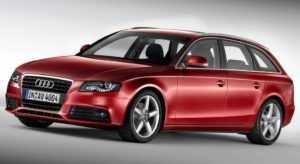 Универсал Audi А4 B8 Avant до рестайлинга