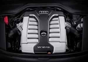 Двигатель FSI W12 6.3