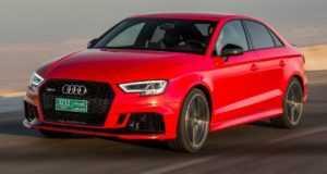 Стала известна цена на автомобиль Audi RS3 Sedan 2018