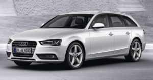 Универсал Audi А4 B8 Avant после рестайлинга