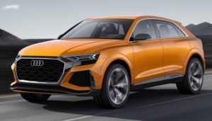 Стали известны новые подробности об автомобилях Audi Q8 и Q4