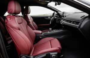 Передний ряд сидений Ауди А5