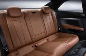 Задний ряд сидений Audi A5