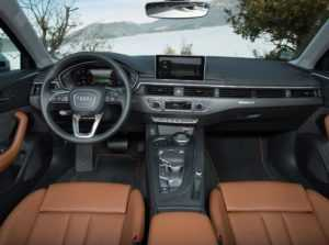 Салон универсала Audi А4 B9 Avant