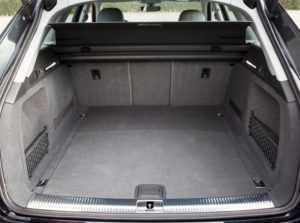 Багажник универсала Audi А4 B9 Avant