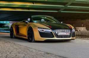 Fostla проапгрейдили Audi R8 Spyder