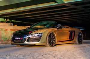 Тюнингованный Audi R8 Spyder