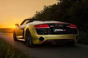 Тюнинг Audi R8 Spyder от Fostla