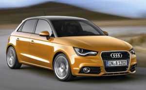 Audi A1 в 5-дверном кузове Sportback до рестайлинга
