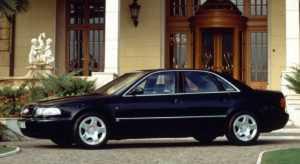 Audi A8 D2 до рестайлинга