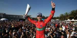 Лукас ди Грасси победил в мексиканском этапе Formula-E