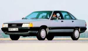 Audi 100 C3, седан, после рестайлинга