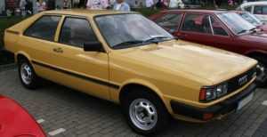Audi Coupe 1980