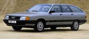 Audi 100 C3, универсал Avant, после рестайлинга