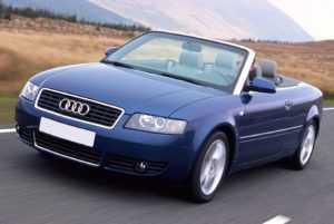 Audi A4 B6 в кузове кабриолет