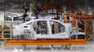 Углепластик в структуре Audi A8