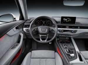 Место водителя Audi A4 Allroad