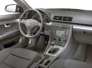Салон универсала Audi А4 B6 Avant