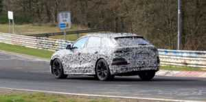 Прототип Audi Q8 засветился в Нюрбургринге
