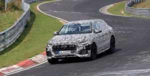 Испытания Audi Q8