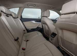 Задний ряд кресел Audi A4 Allroad