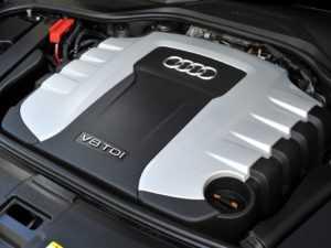 Двигатель V8 TDI