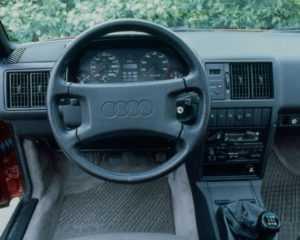 Интерьер Audi 200