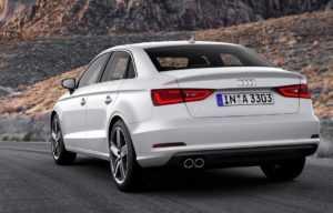 Экстерьер Audi A3 Sedan до рестайлинга