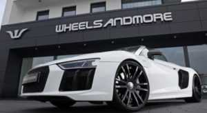 Wheelsandmore предложили тюнинг-пакет для родстера Audi R8