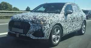Будущий Audi Q3 подловили фотошпионы