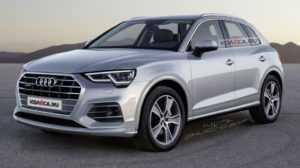 Audi Q3 появился на изображениях