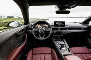 Внутренняя отделка Audi A5 Coupe