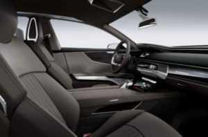 Интерьер Audi A9