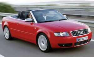 Кабриолет Audi S4 B6/8H