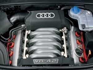Мотор V8 Audi S4 B6/8H