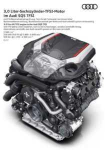 Двигатель 3.0 TFSI Audi SQ5 2017