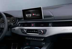 Салон Audi S4 B9